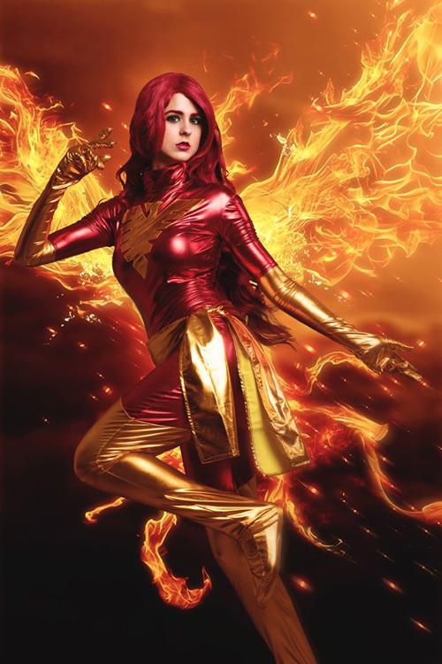 Dark Phoenix from X-Men Cosplay
