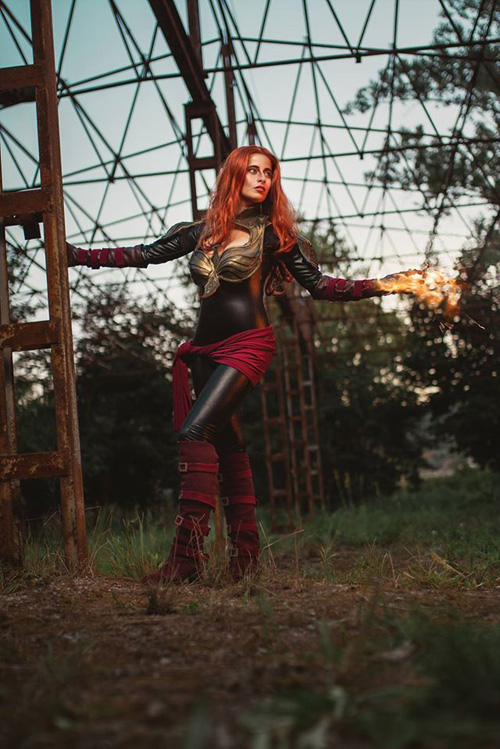 Dark Phoenix from Marvel: Avengers Alliance Cosplay