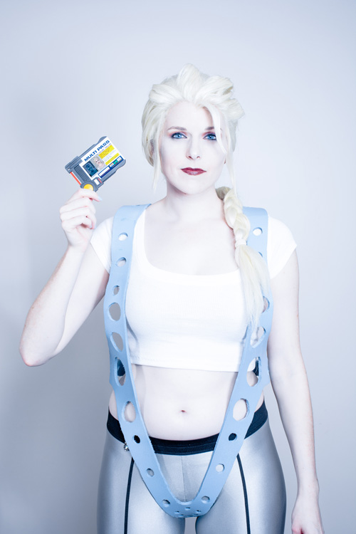 Elsa / Leeloo Mashup Cosplay