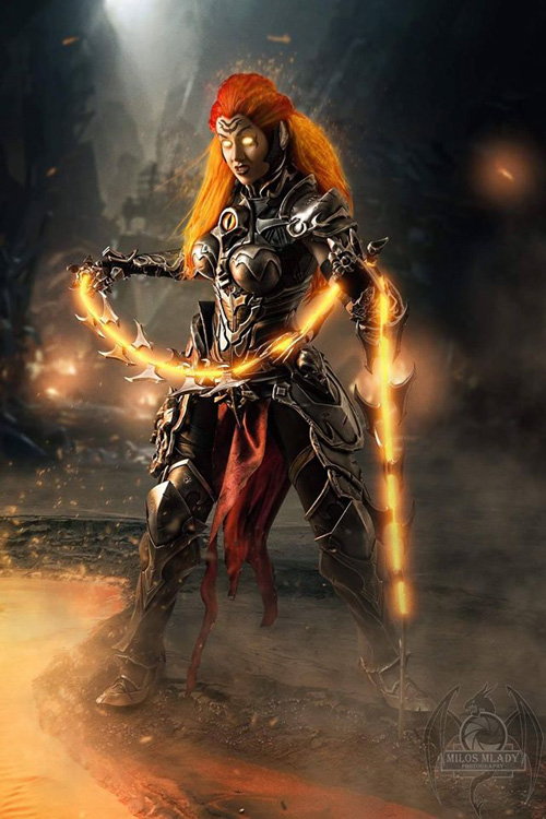 Flame Fury from Darksiders�3 Cosplay