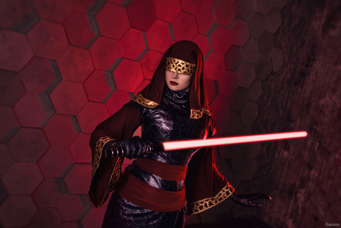 Visas Marr from Star Wars: Knights of the Old Republic Cosplay