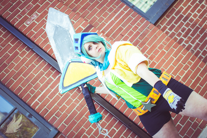 Arcade Riven from League of Legends Cosplay