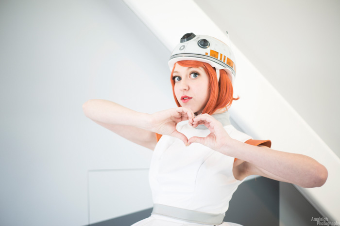 BB8 from Star Wars: The Force Awakens Cosplay