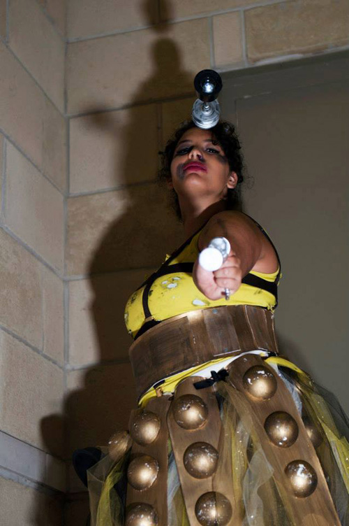 Battle Worn Dalek Cosplay