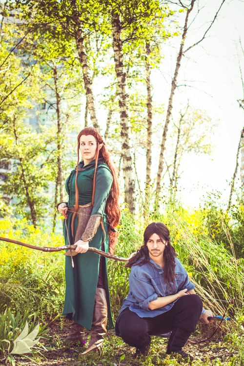 Kili & Tauriel from The Hobbit Cosplay