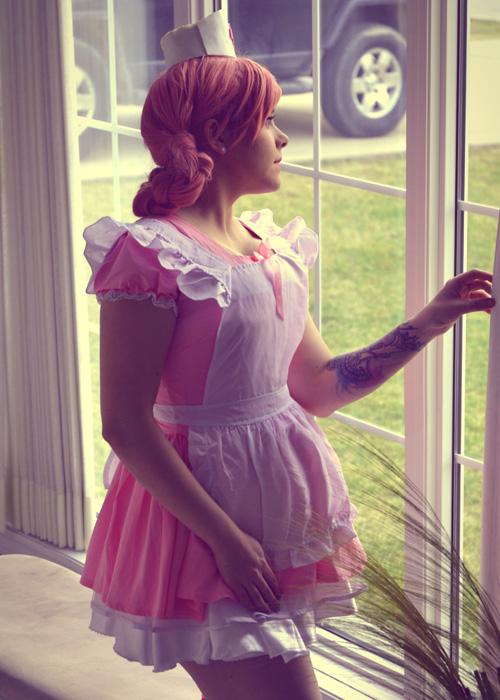 Nurse Joy from Pokemon Cosplay