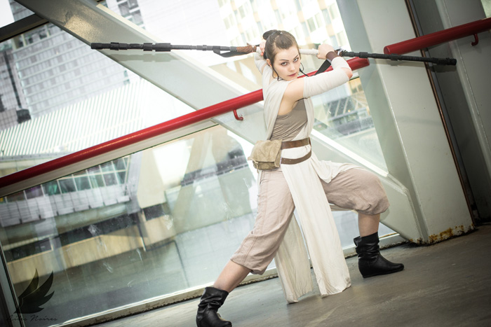 Rey from Star Wars: The Force Awakens Cosplay