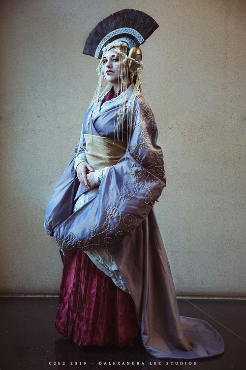Queen Amidala from Star Wars Cosplay