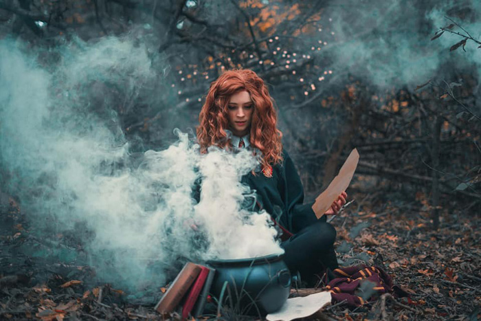 Hermione from Harry Potter Cosplay