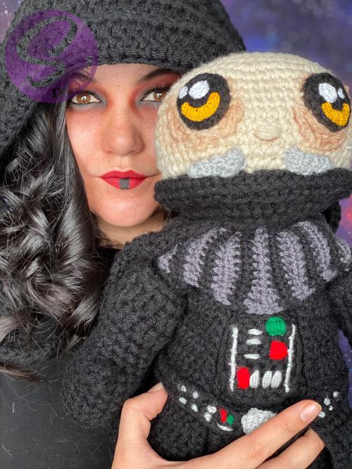 Darth Vader Crochet Photoshoot