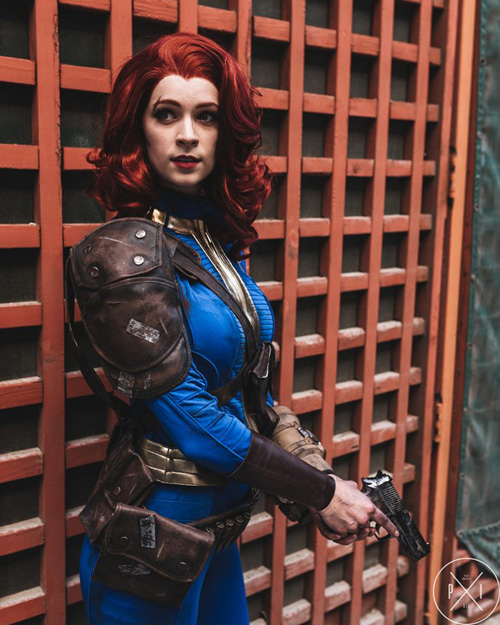 Vault Dweller from Fallout Cosplay