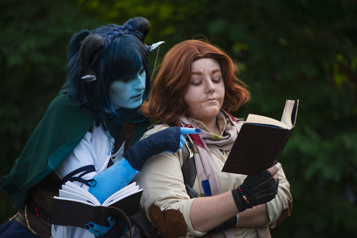 Jester & Friends from Critical Role Cosplay