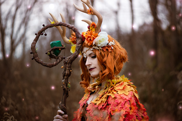 Keyleth From Critical Role Cosplay Keyleth seems pathologically unable to encounter someone else's tragedy without making it all about her own feelings. geek x girls