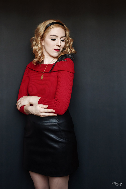 Sabrina Spellman from Chilling Adventures of Sabrina Cosplay