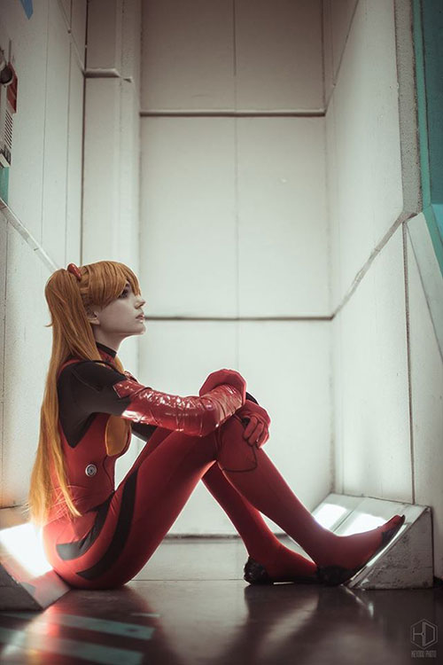 Asuka from Evangelion Cosplay