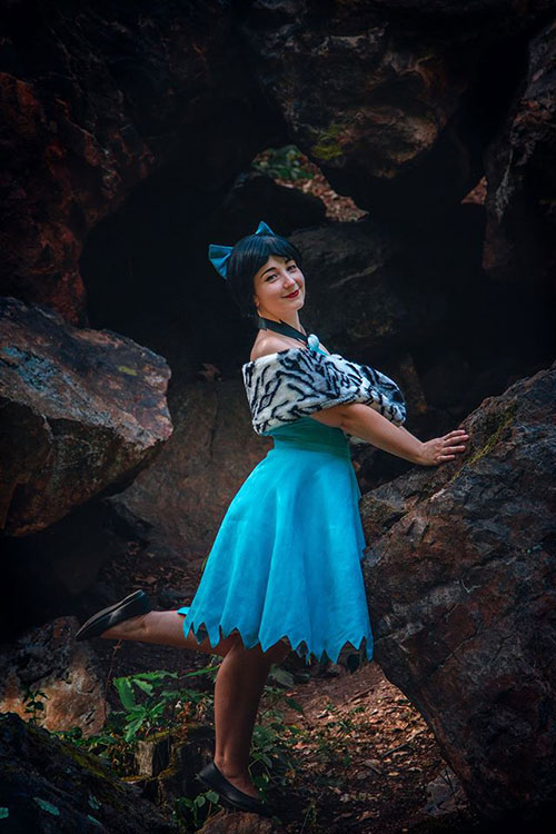 Betty Rubble from The Flintstones Cosplay
