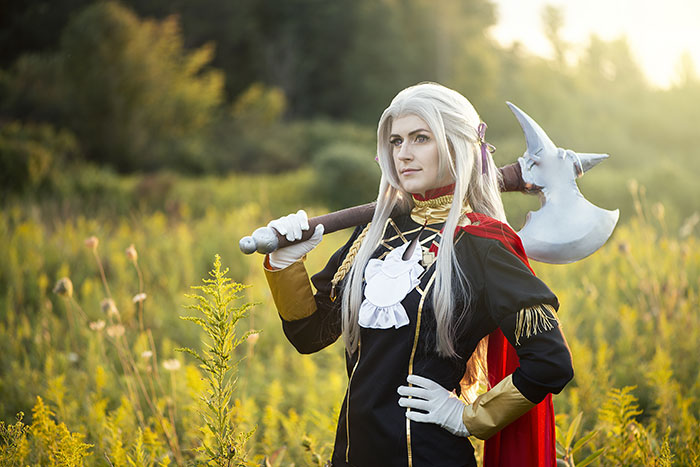 Edelgard from Fire Emblem Cosplay