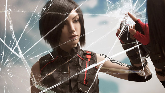 Faith Connors from Mirrors Edge Catalyst Cosplay