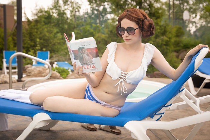 Princess Leia Swimsuit Looks