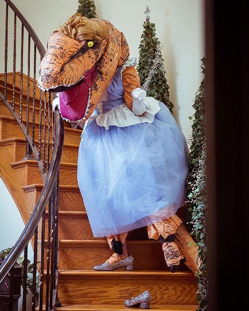 Princessaurus Rex Cosplay