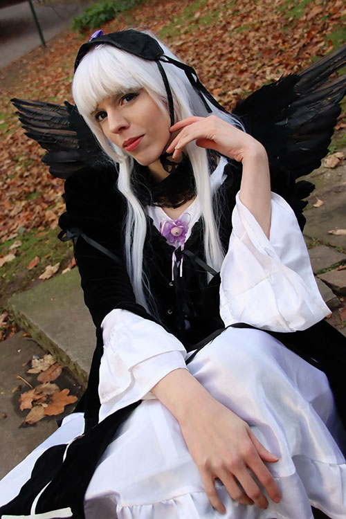 Suigintou from Rozen Maiden Cosplay