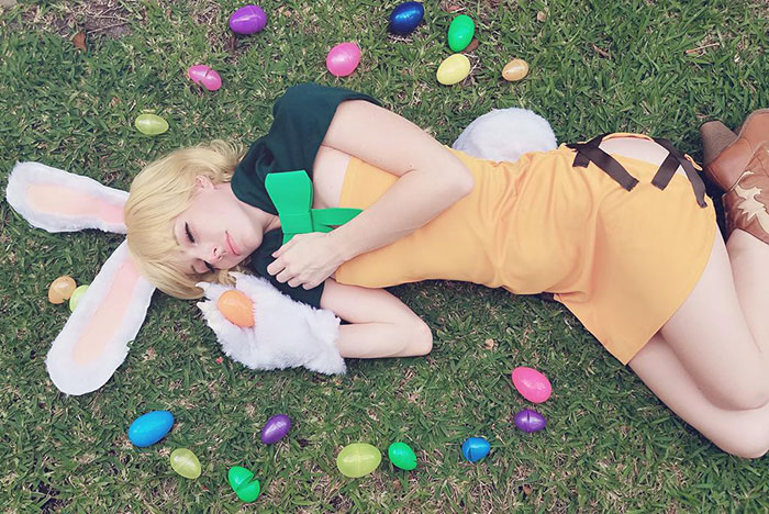 Easter Carrot from One Piece Cosplay