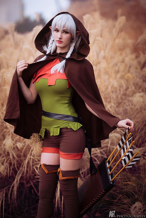 Elf from Dragons Crown Cosplay
