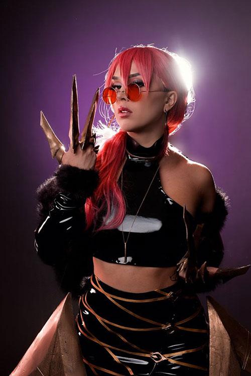 K/DA Evelynn from League of Legends Cosplay