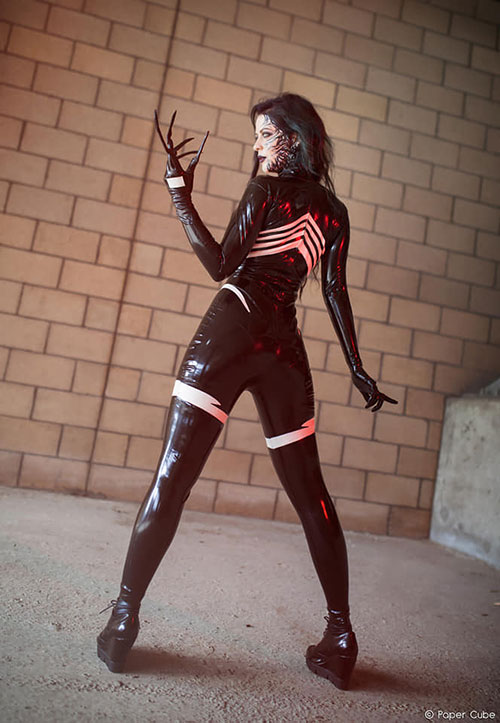 Venom Latex Cosplay