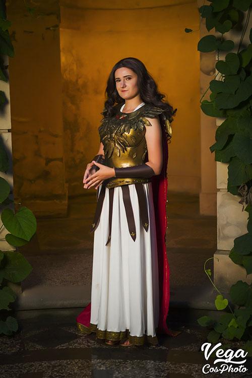 Greek Goddess Athena Cosplay