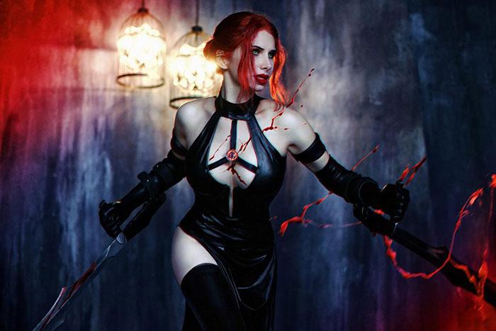 Rayne from BloodRayne 2 Cosplay