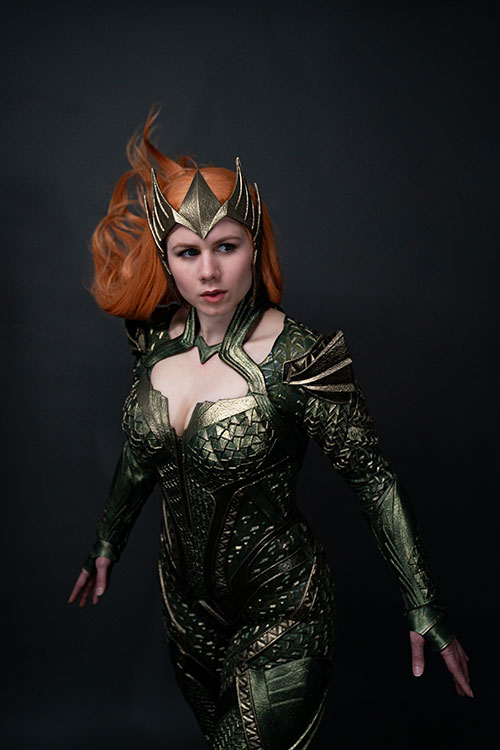 Justice League Mera Cosplay