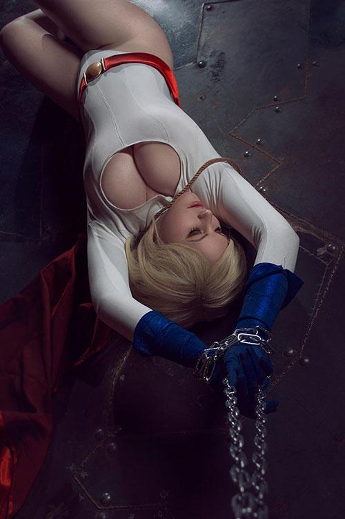 Power Girl Cosplay |Geek Power Girl Symbol