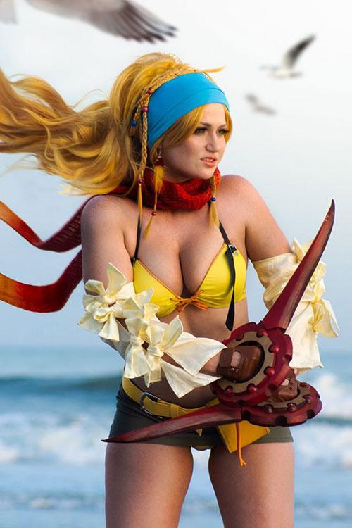 Rikku from Final Fantasy X-2 Cosplay