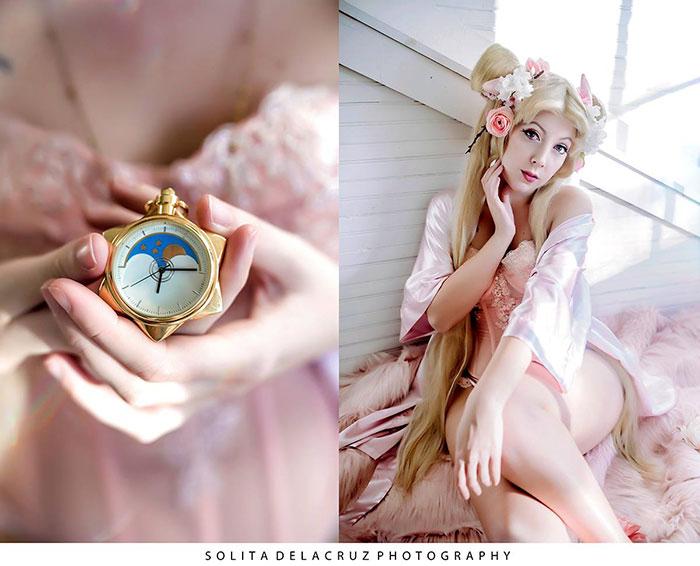 Alternative Sailor Moon Boudoir Photoshoot