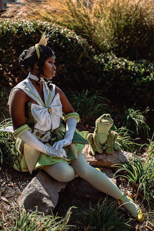 Sailor Tiana Mashup Cosplay