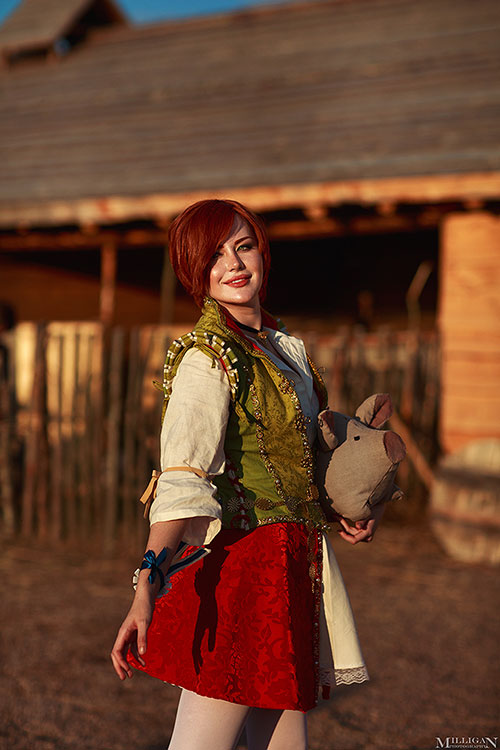 Shani from The Witcher 3: Wild Hunt Cosplay