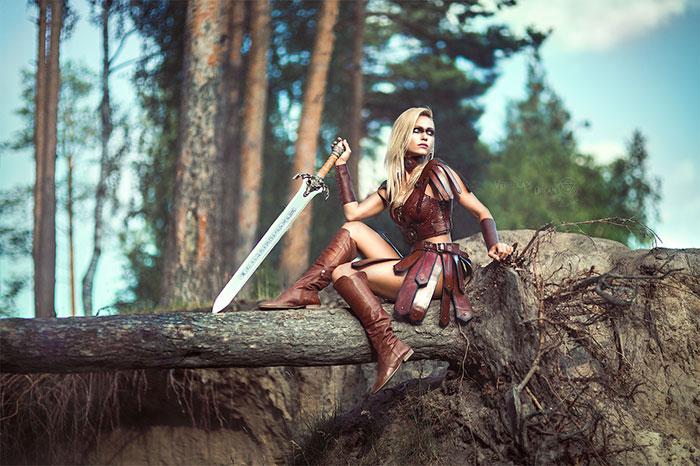 Warrior Fantasy Cosplay