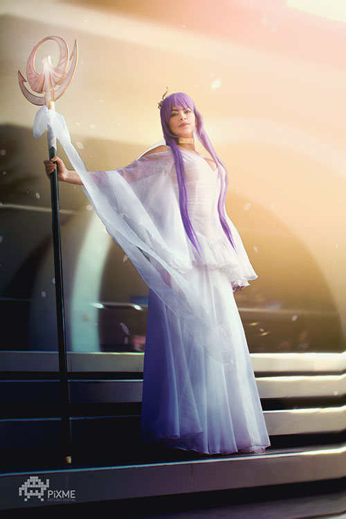 Athena & Hades from Saint Seiya Cosplay