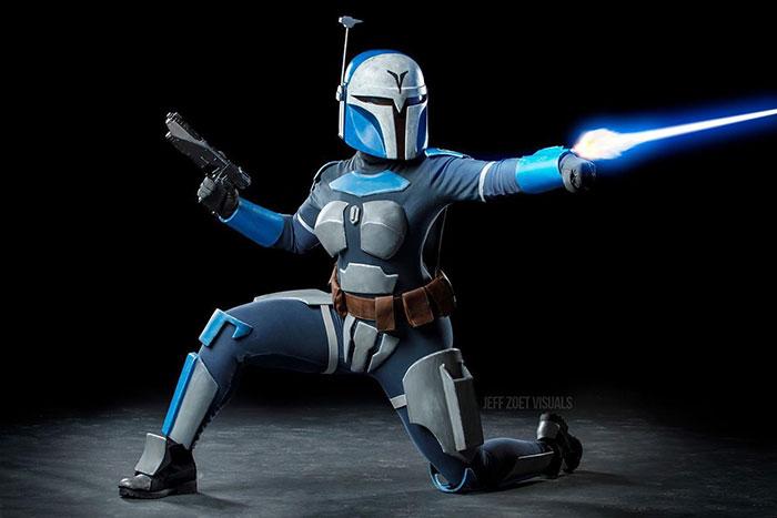 Bo-Katan from Star Wars: The Clone Wars Cosplay