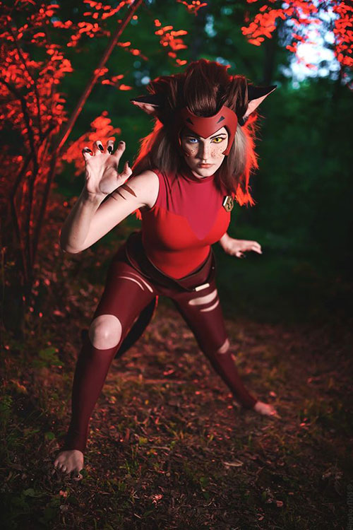 Catra from She-Ra and the Princesses of Power Cosplay