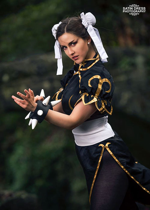 Chun-Li from Street Fighter Cosplay