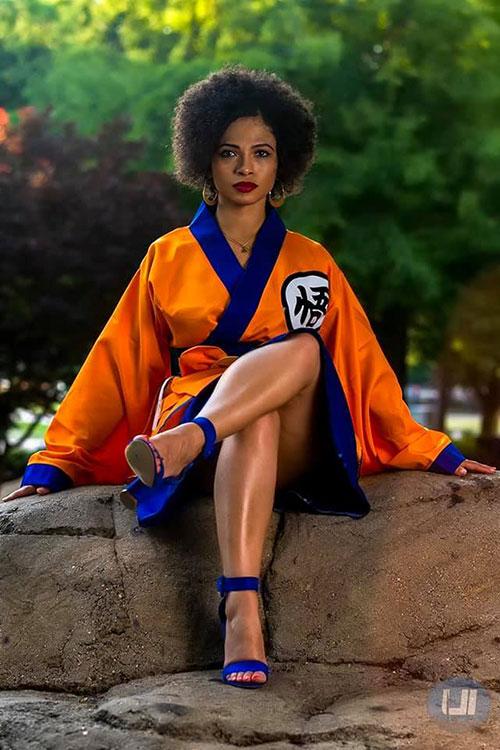Dragon Ball Kimono Photoshoot