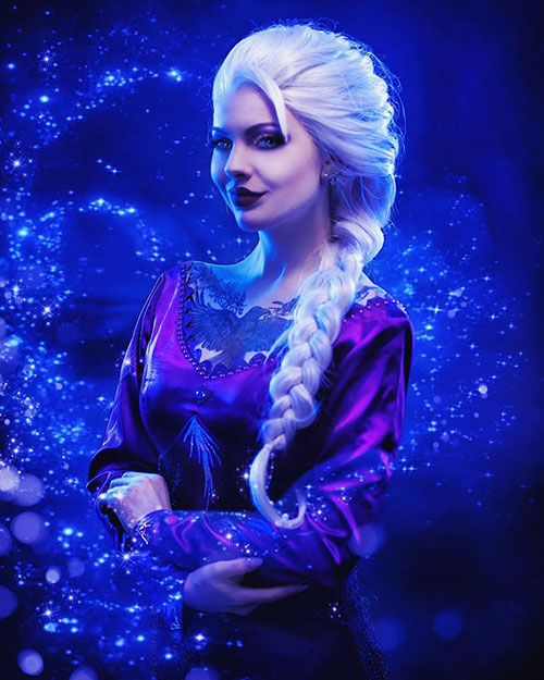 Elsa from Frozen 2 Cosplay