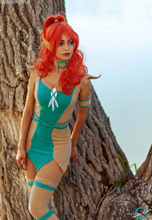 Ember from Elfquest Cosplay