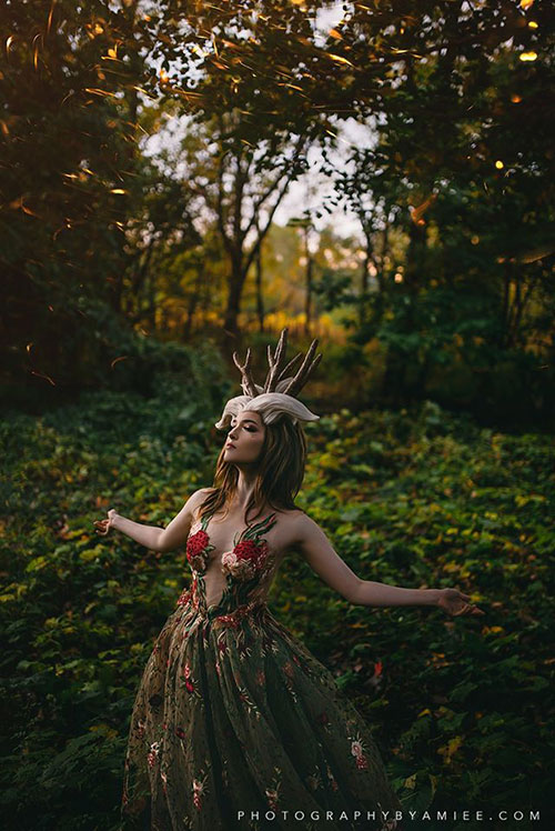 The Forest Spirit from Princess Mononoke Cosplay
