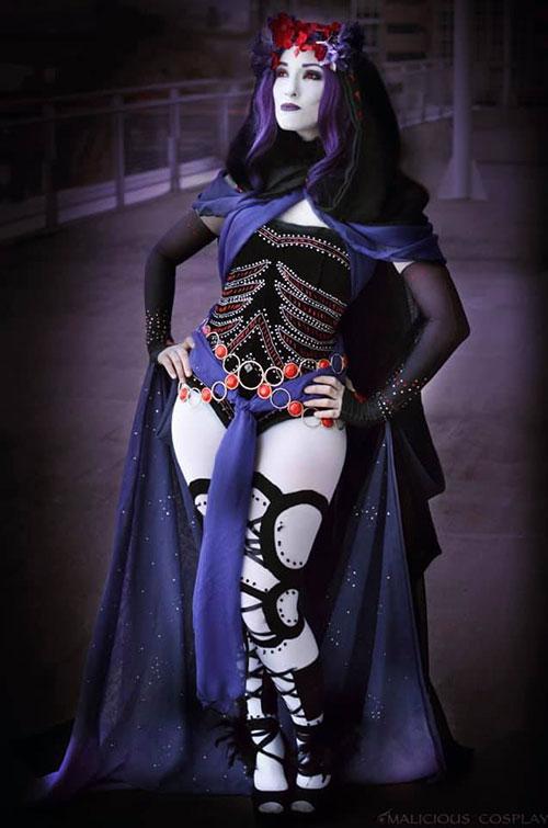 Art Nouveau Raven Cosplay