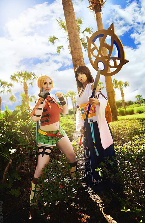 Rikku & Yuna from Final Fantasy X Cosplay