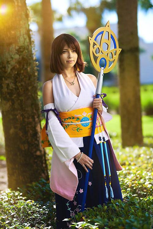 Rikku & Yuna from Final Fantasy X Cosplay