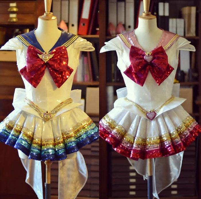 Sequin Sailor Moon Costumes